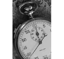 Stopwatch 5 Photographic Print