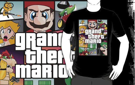 Grand Theft Mario by InsomniACK