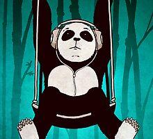 Panda Swing by Kuba Gornowicz