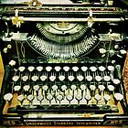 Vintage typewriter #1 by Nicklas81