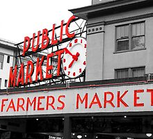 Pike Place Market by kenneymi