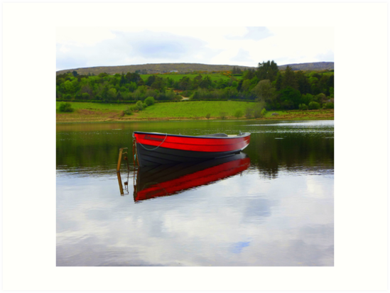 Lough Fern Fishing Boat by Fara