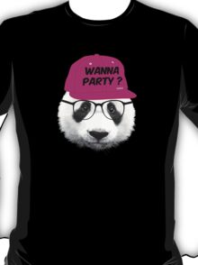 Panda - Wanna Party Cap T-Shirt