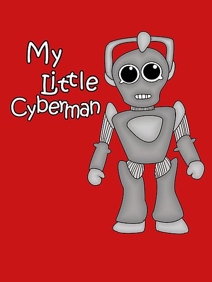 My Little Cyberman by nimbusnought