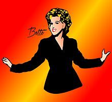 Bette Midler - Divine - Pop Art by wcsmack