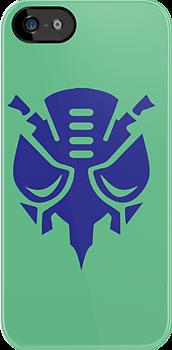 Predacon Logo (Blue) by Clinkz