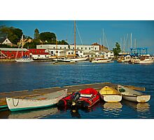 All is Quiet in the Harbor Photographic Print