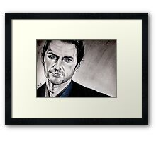 Richard Armitage, Lucas North Framed Print