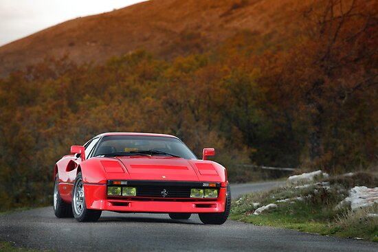 Ferrari 288 GTO 1985 by Stefan Bau