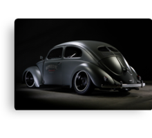 Volkswagen Beetle 1954 Top Chop Canvas Print