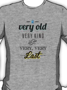 The Last of the Time Lords T-Shirt