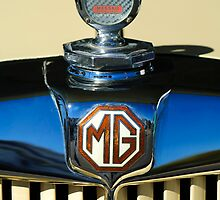 1951 MG TD Messko Thermometer Hood Ornament by Jill Reger