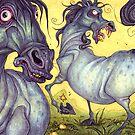 horses by Ejay Basford