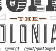 Defend The Twelve Colonies of Kobol Sticker