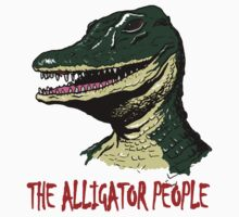 Mani Yack Alligator People by monsterfink