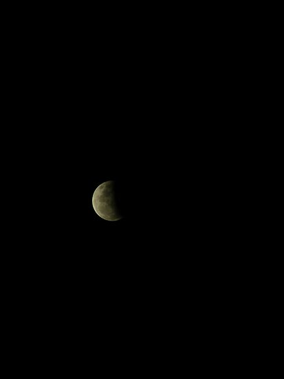 partial lunar eclipse 2012 by minikin