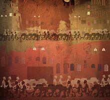 townsmen by Nikolay Semyonov