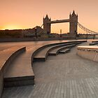 Tower Bridge at Dawn by George Johnson