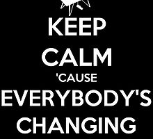 Keep Calm 'Cause Everybody's Changing by keanecalm