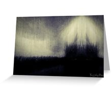Within the Darkness Greeting Card