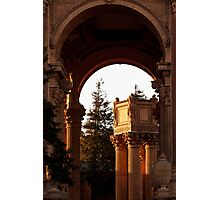 Pillars in the Light Photographic Print