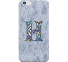 The Letter H iPhone Case/Skin