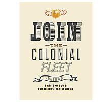 Defend The Twelve Colonies of Kobol Photographic Print