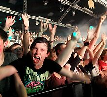 Enter Shikari - Rock City (Nottingham, UK) - 25th Oct 2011 (Image 43) by Ian Russell