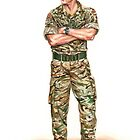 Royal Marine Officer by wonder-webb