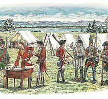 British Troops at the Battle of Quebec 1759 by wonder-webb