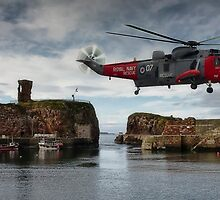 Sea King Helicopter by Sam Smith