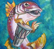 Drummer Fish by Ellen Marcus