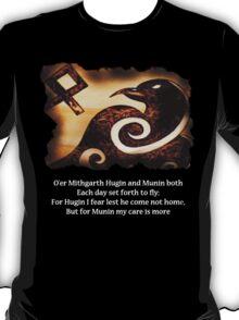 Odin's Raven Muninn T-Shirt