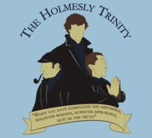 The Holmesly Trinity by flushgorden