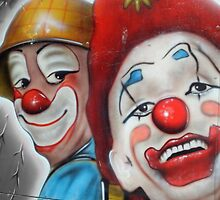 Clowns by Roxy J