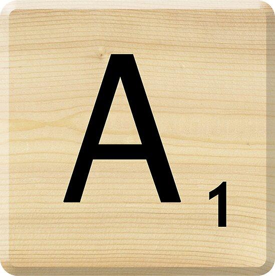 Scrabble+A-Z Scrabbler › Portfolio › Scrabble Letter A