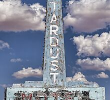 Stardust Motel Sign iPhone 4 Case by Warren Paul Harris