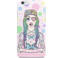 Love Is The Drug iPhone Case/Skin