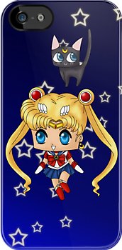 Chibi Sailor Moon by artwaste