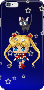 Chibi Sailor Moon by artwaste