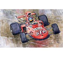 March 711 Ford Ronnie Peterson GP Italia 1971 Photographic Print