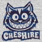 Cheshire Originals - Blueberry Stripe Scribble by CheshireGoMad