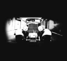 1932 Ford Hot Rod (B&W) by blulime