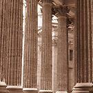Columns at Kazan Cathedral by M-EK