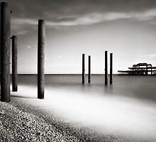 Old Brighton Pier by Mark Smart
