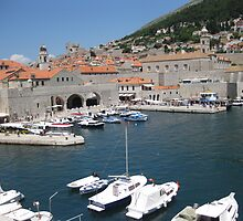 Beautiful Dubrovnik by Sue Gurney