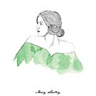 Mary Shelley by Paradoxthis