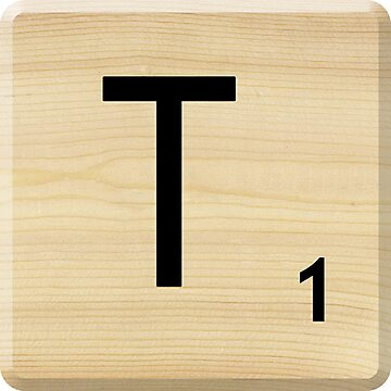 Scrabble Letter T	 by Scrabbler