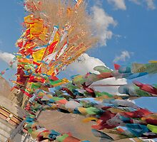 Prayer Flags by TeaRose