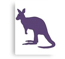 Kangaroo Wallaby Canvas Print